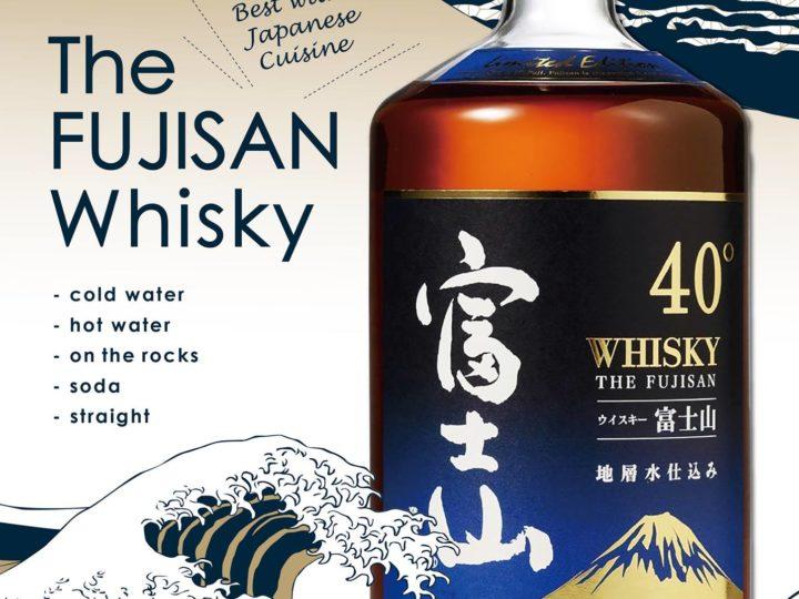 "New Drink Menu: ""THE FUJISAN WHISKY"""